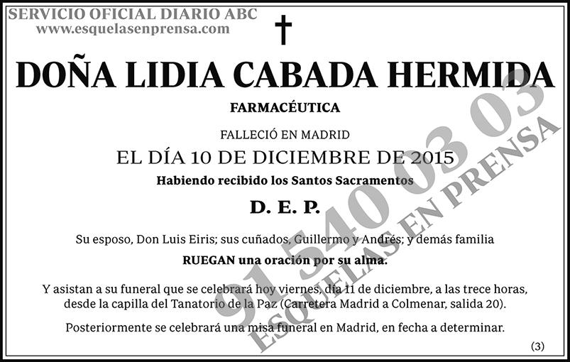 Lidia Cabada Hermida